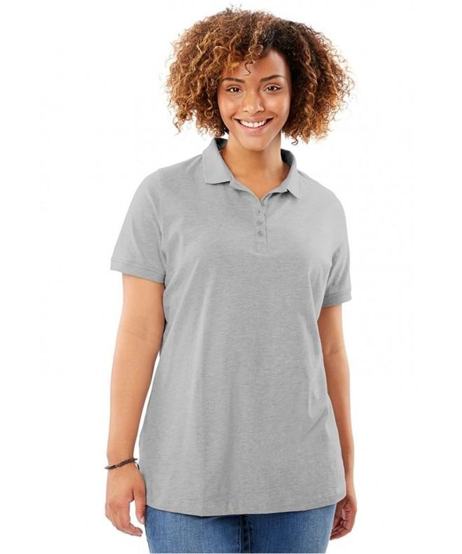 Womens Short Sleeve Perfect Heather