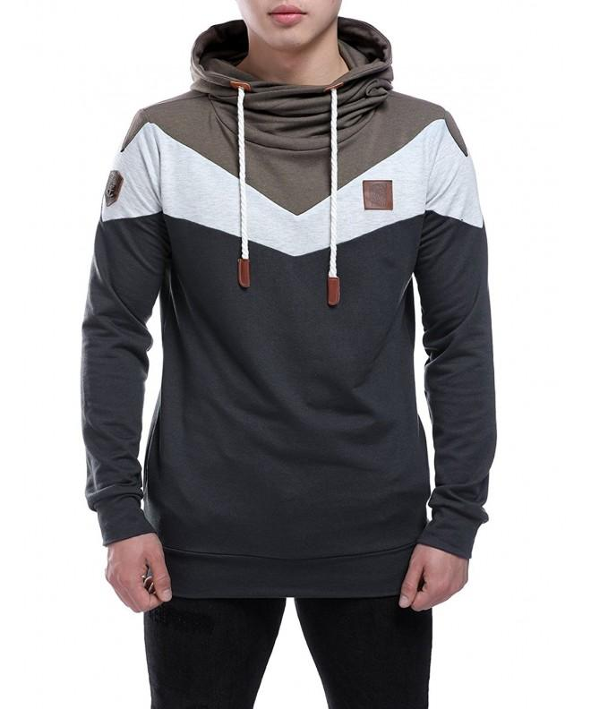 HEQU Casual Hoodies Sweatershirts Outwear