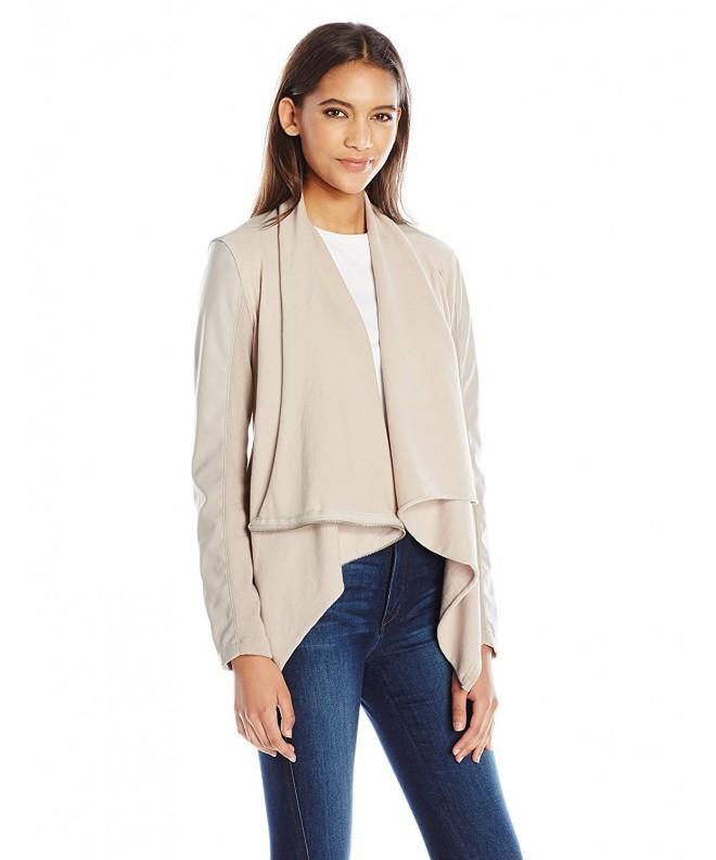blanknyc Womens Faux leather Jacket Medium