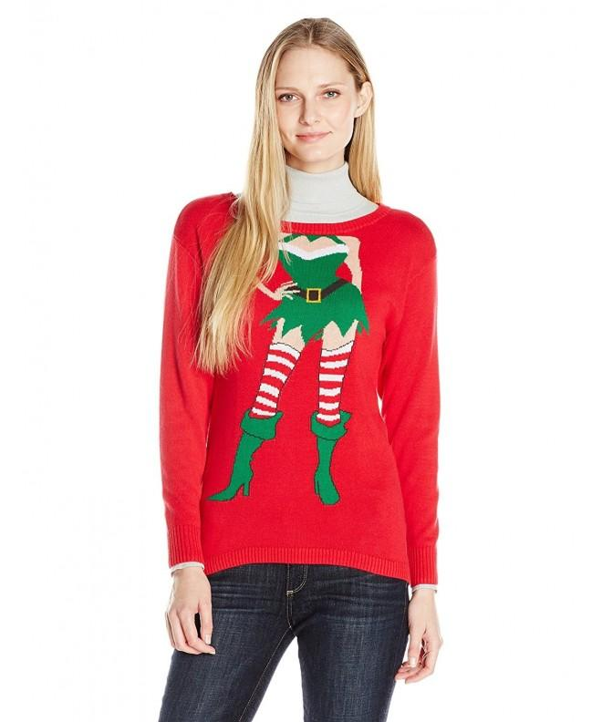 Isabellas Closet Womens Christmas Sweater