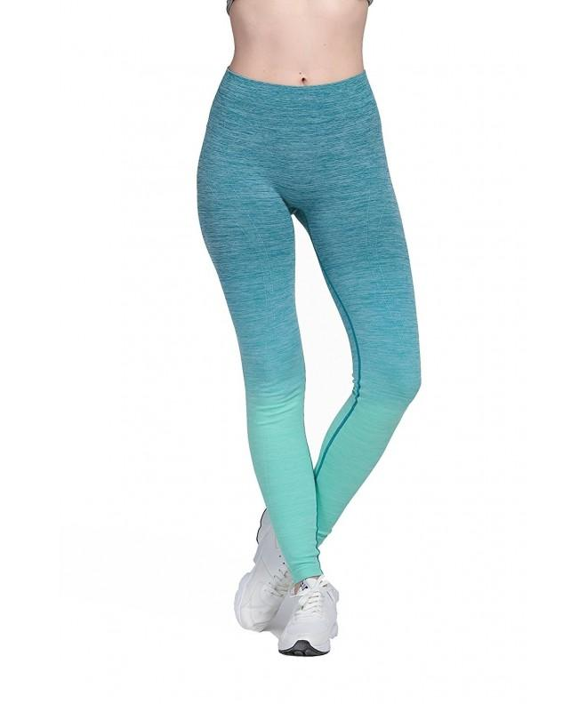 Sports Exercise Gradient Workout Leggings