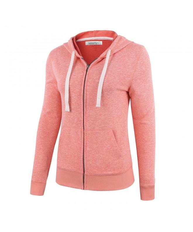 Vetemin Sleeve Hoodies Sweater Melange