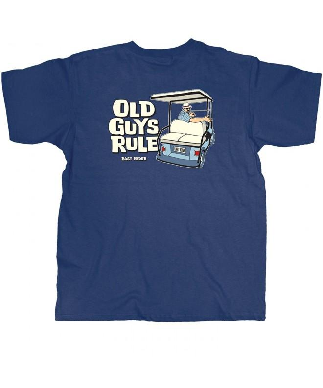 Old Guys Rule T Shirt Large