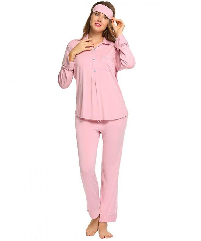 Goldenfox Pajamas Shirt style Collar Nightwear