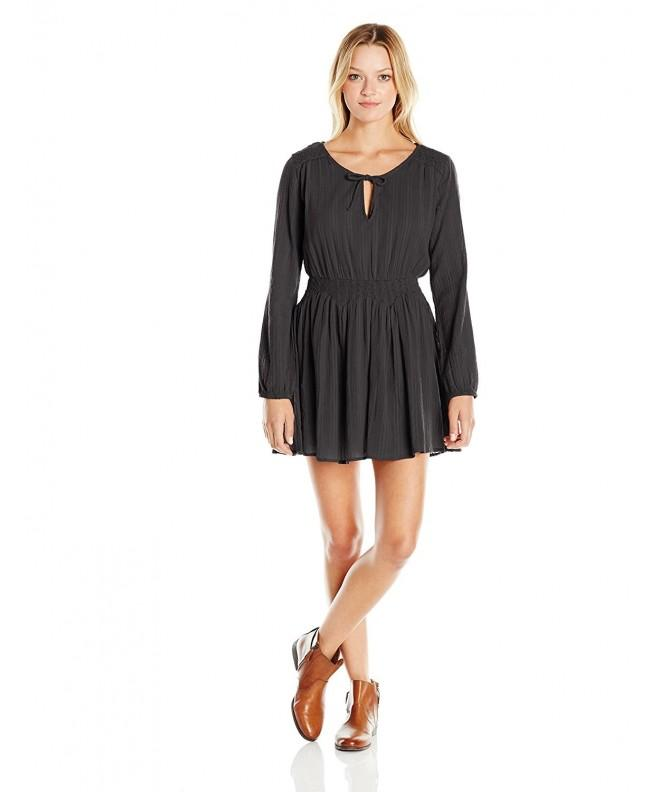 Volcom Juniors Gauza sleeve Dress
