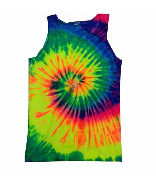 Colortone Unisex Tank Rainbow Small
