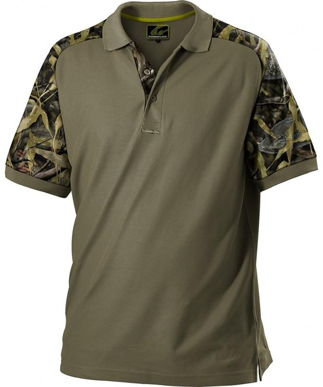 Fishouflage Anglers Vented Short Sleeve Performance