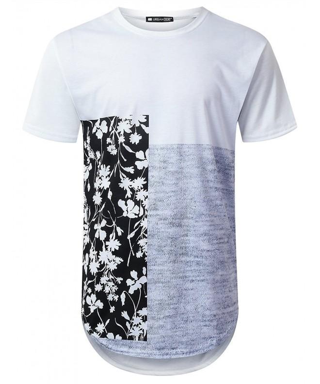 URBANTOPS Hipster Vertical Longline T shirt