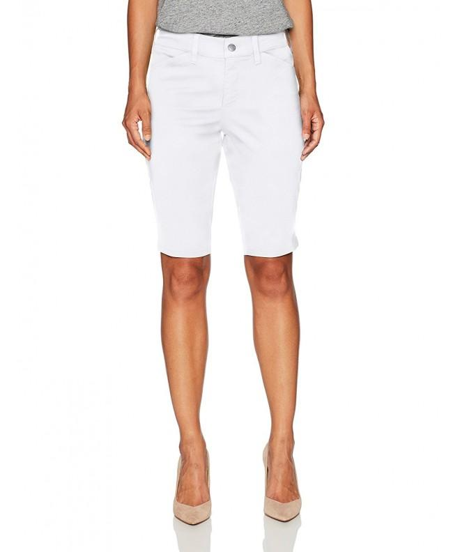 NYDJ Womens Petite Christy Bermuda