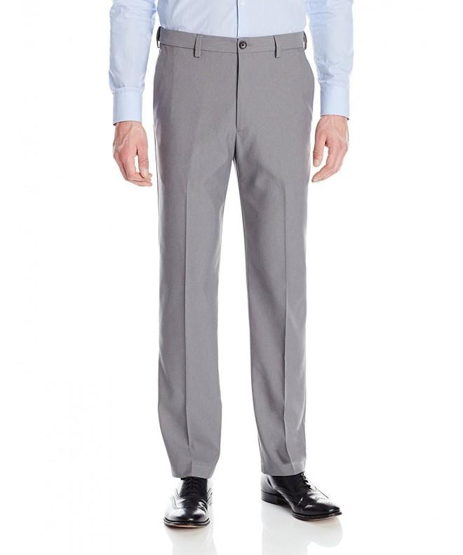 Haggar Stretch Heather Expandable Waistband