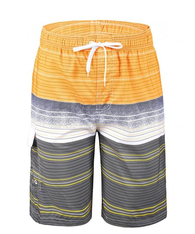 Unitop colorful Striped Recreation Yellow 36