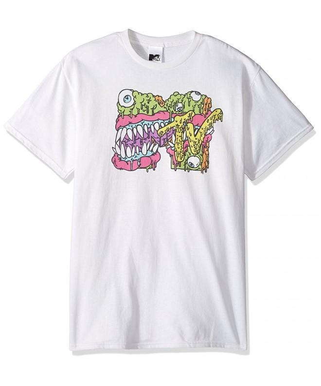 MTV Slime Monster T Shirt White