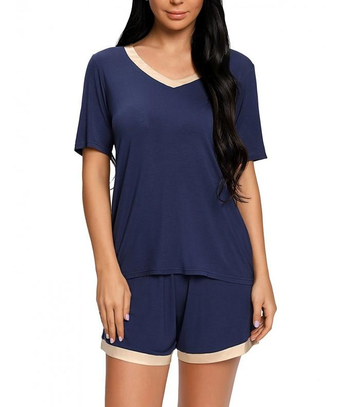 ARANEE Womens V Neck Shorts Nightwear
