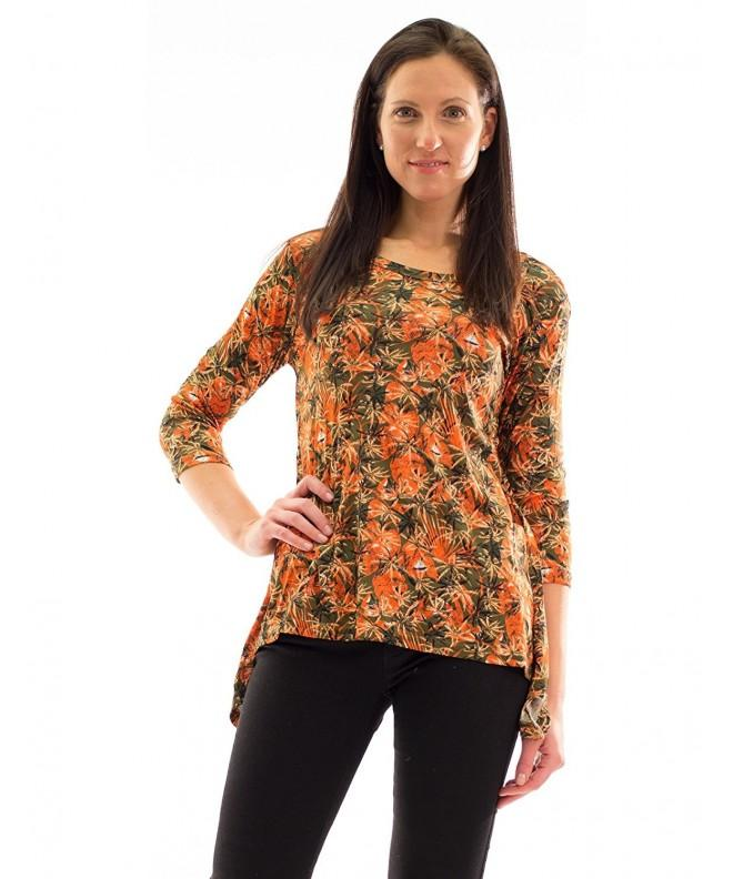 Avanti Bottega Womens Sleeve Florals