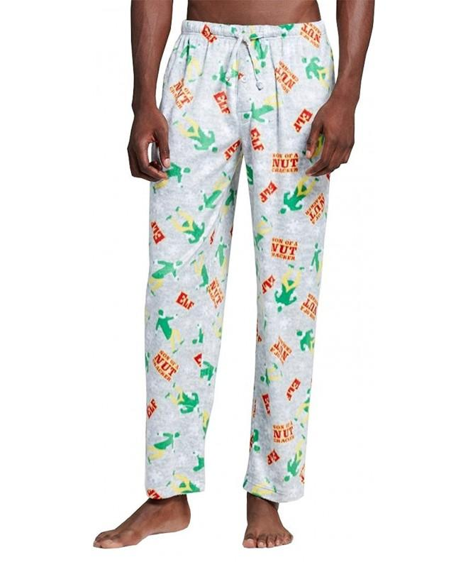Elf Buddy Fleece Pajama Pants