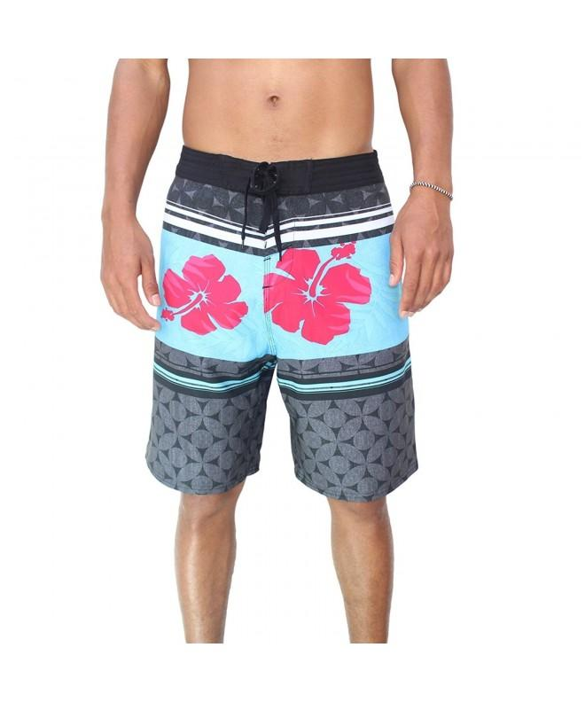 Burnside Mosaic Flower Stretch Boardshort