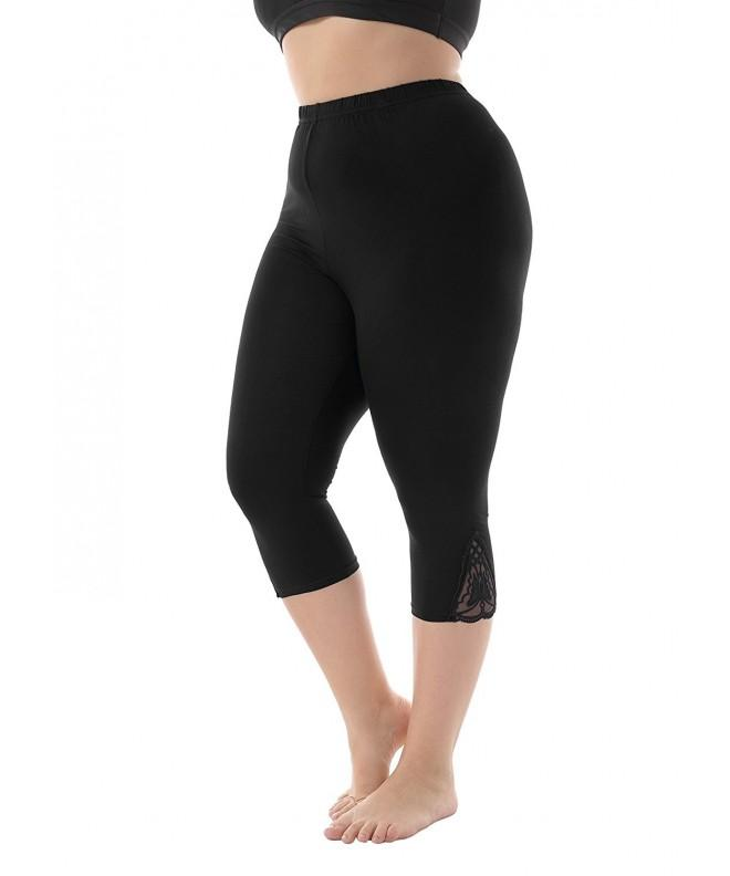 ZERDOCEAN Womens Modal Capri Leggings