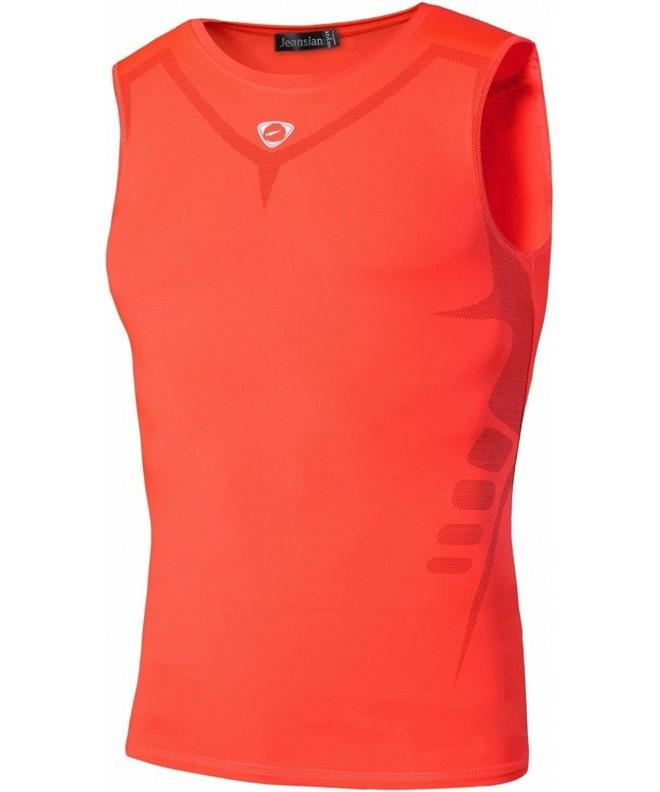 jeansian Compression Sleeveless LSL207 Orange