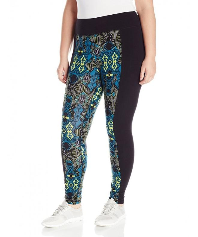 Rainbeau Curves Womens Print Legging