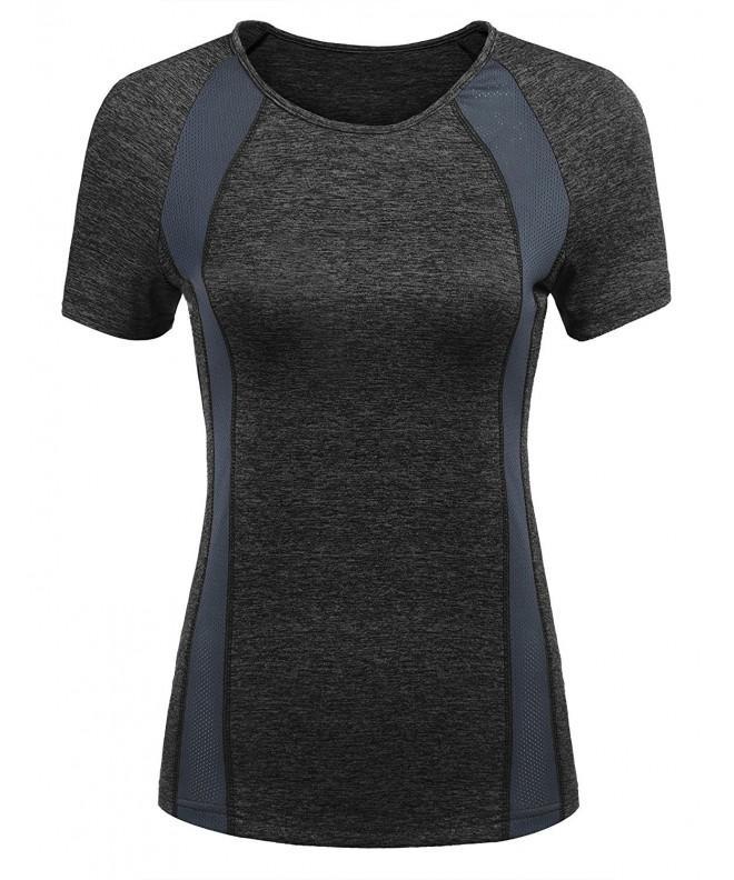 Elesol Shirts Casual Sleeve Fitness