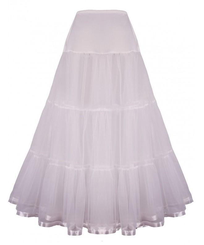 Shimaly Womens Wedding Petticoat Underskirt