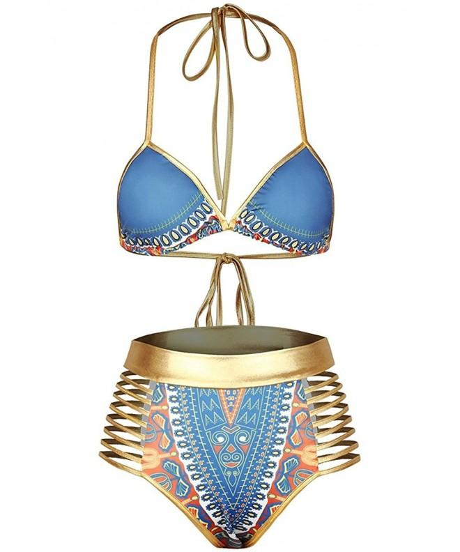 Newest Popular African Metallic Swimsuit