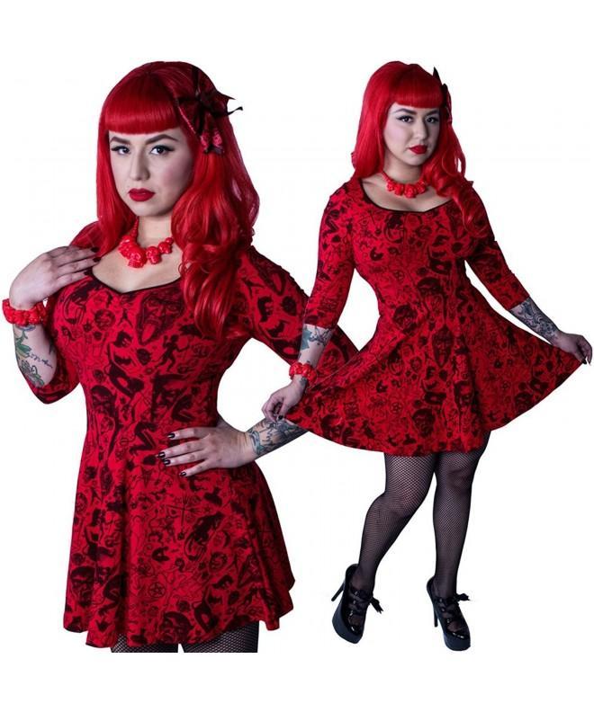 Kreepsville 666 Womens Devil Skater