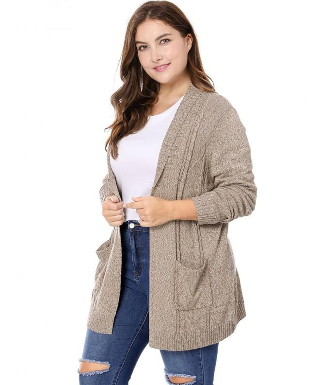 Agnes Orinda Womens Sweater Cardigan