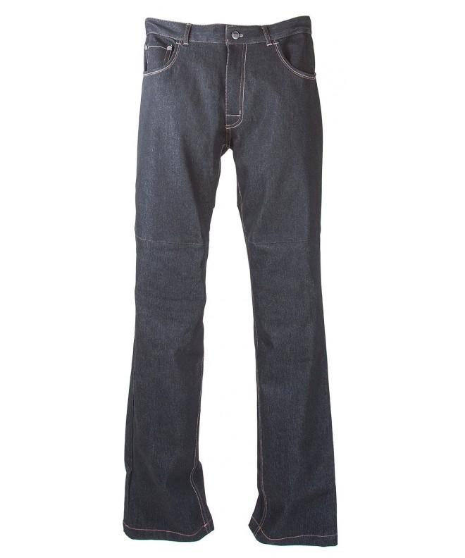 Grindz Black Padded Denim Jeans