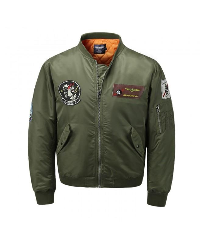 AVIDACE Classic Bomber Quilted Patches