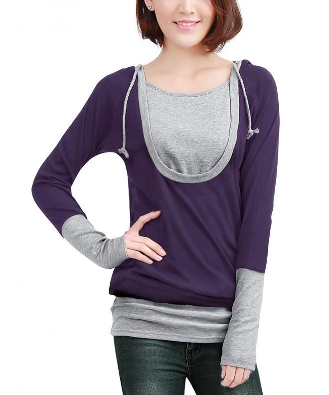 Allegra Sleeve Drawstring Pullover Hoodie