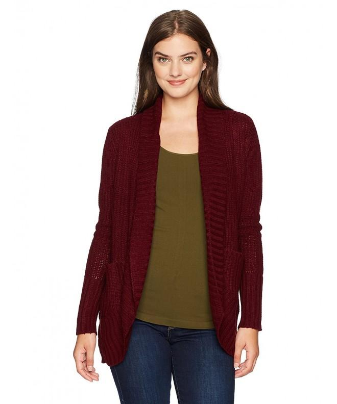 Jason Maxwell Womens Turnback Cardigan