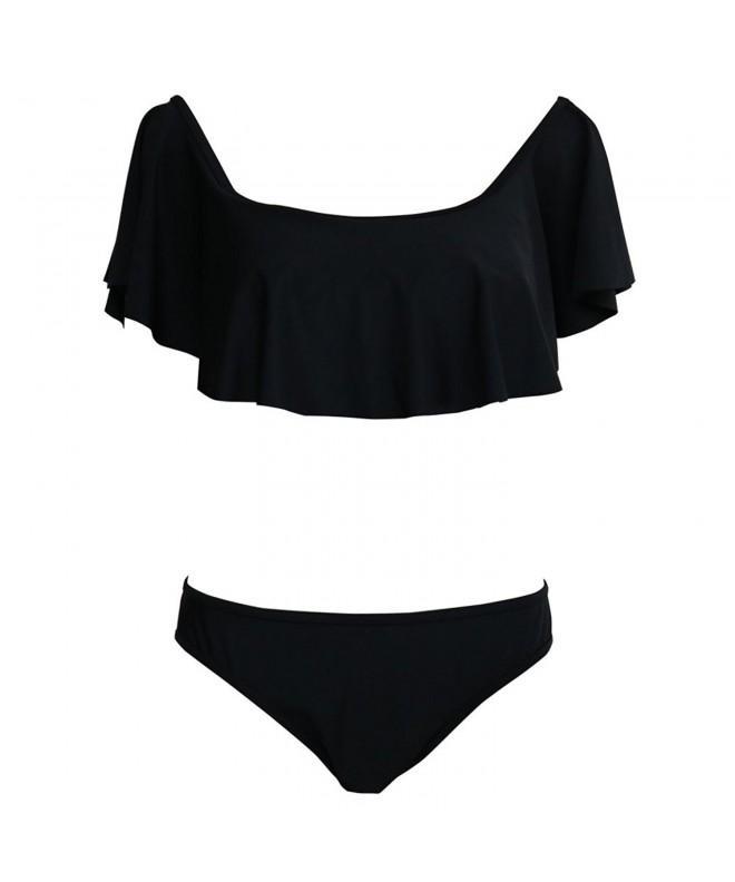 Tueenhuge Womens Bikini Strapless Swimsuits