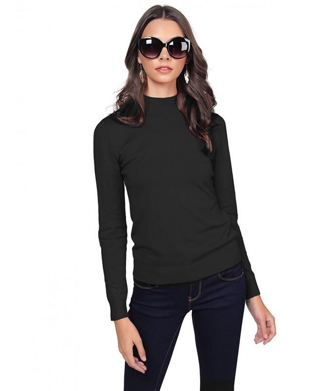 Awesome21 Turtle Sleeve Sweater Black