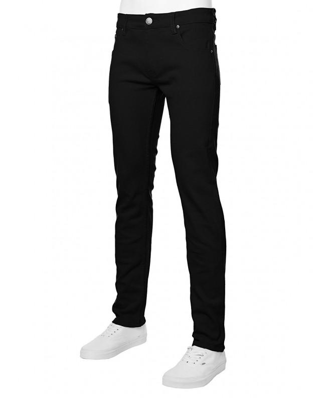 URBAN Mens Skinny Jeans Black
