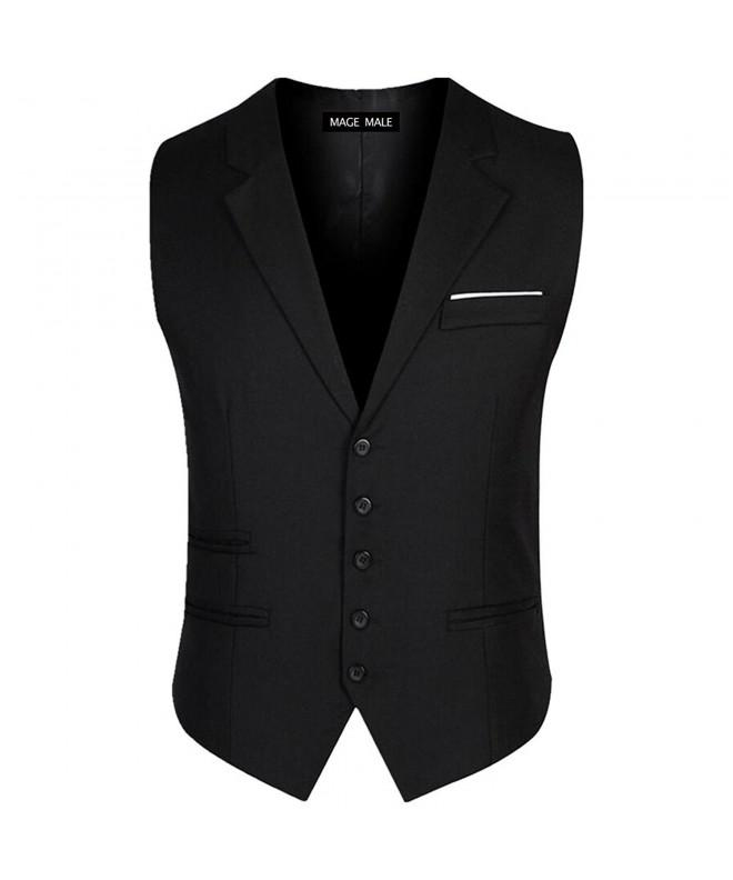 MAGE MALE 5 Button Breasted Waistcoat