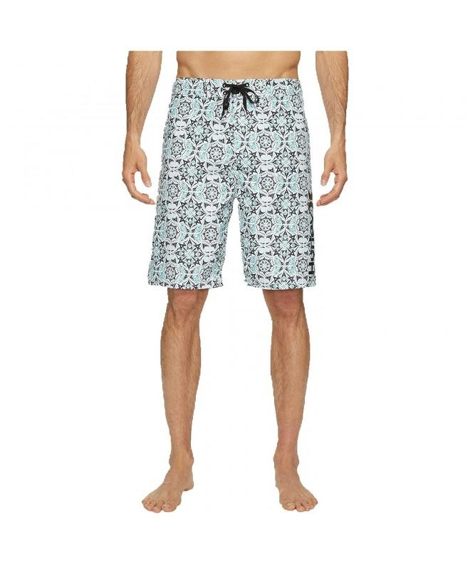 Hurley Mens Groves Boardshorts White