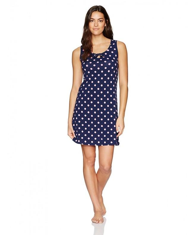 Jockey Womens Printed Chemise Dots