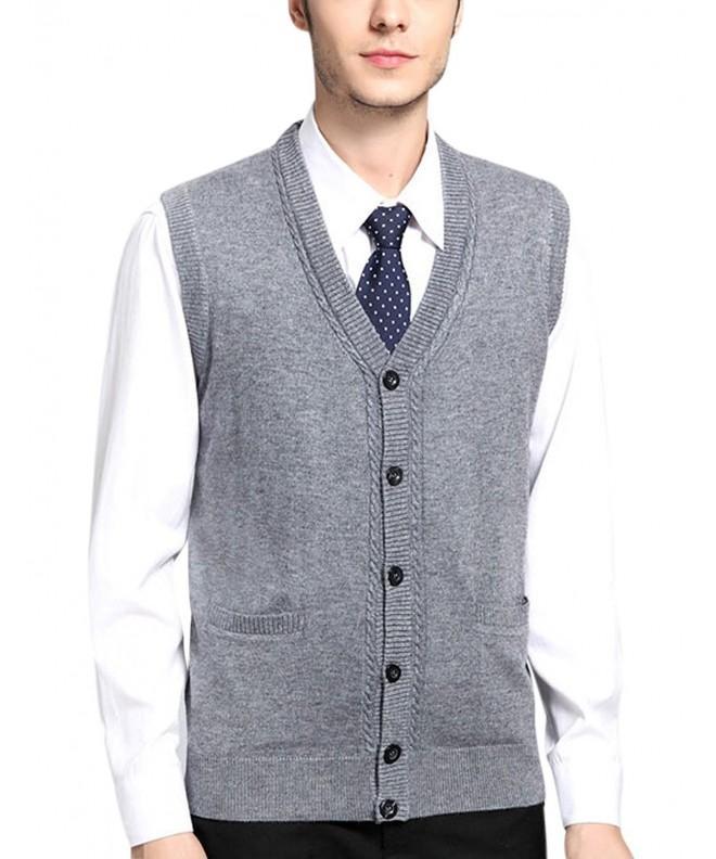 Yeokou Cashmere Sleeveless Sweater Waistcoat