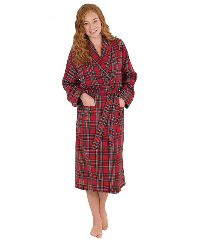 PajamaGram Womens Stewart Cotton Flannel