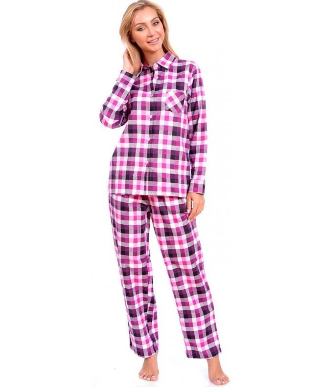 Patricia Womens Classic Flannel Sleepwear