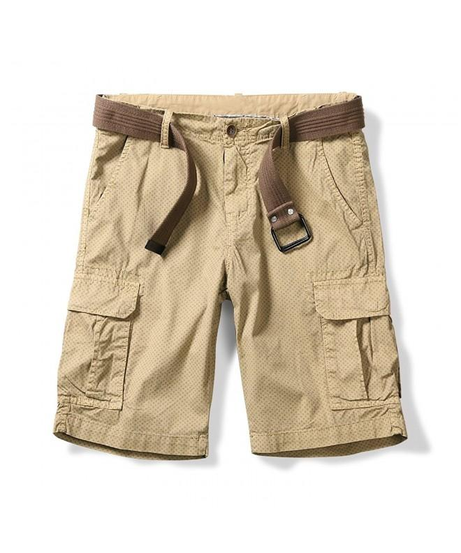 OCHENTA Lightweight Pocket Casual Shorts