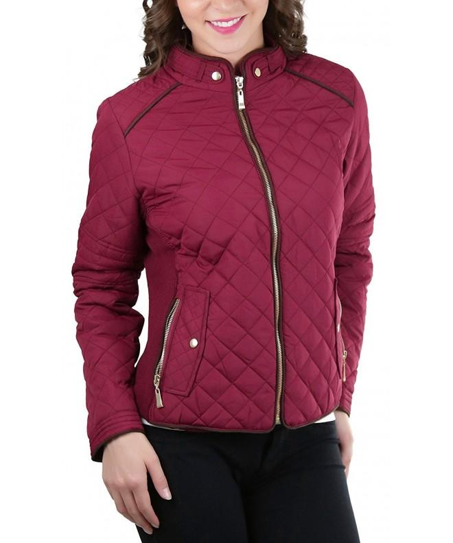 ToBeInStyle Womens Quilted Padded Jacket