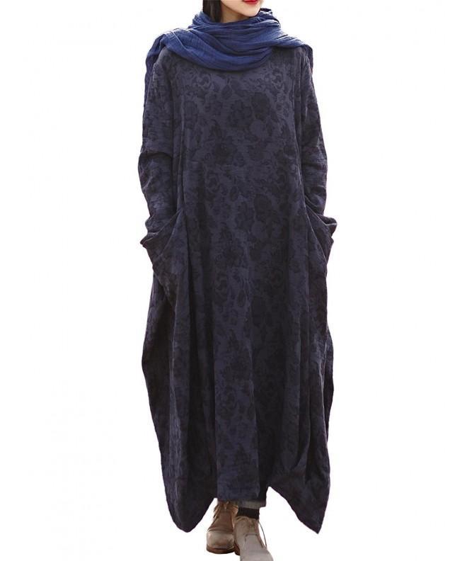 LifeShow Womens Irregular Dresses Pockets