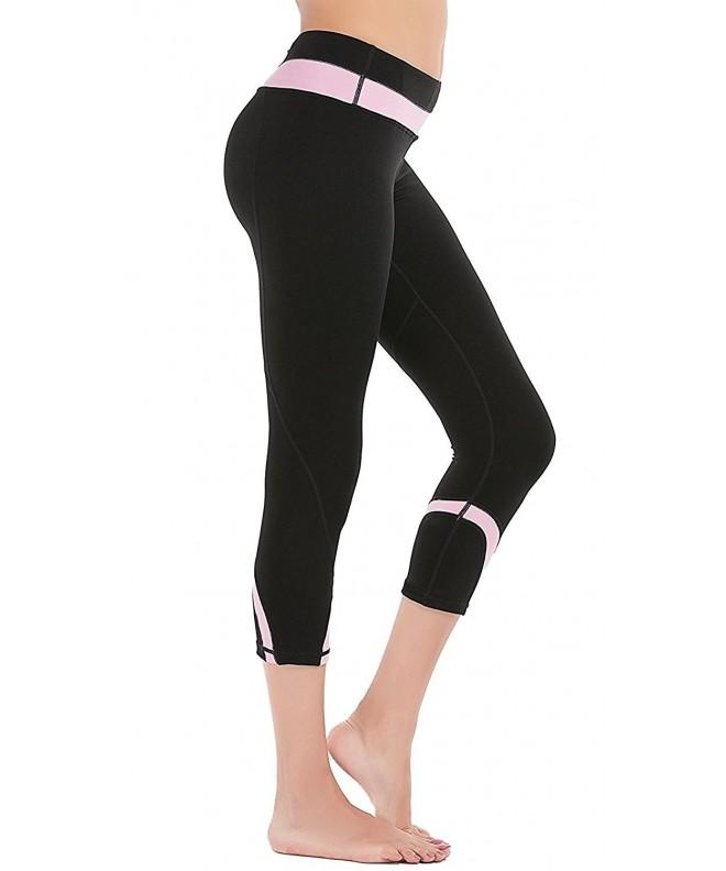 DeepTwist Workout Leggings Stretch DT4004 Pink 10