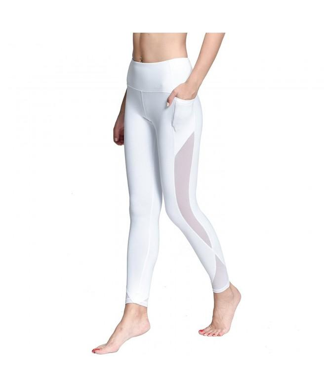 Chikool Running Workout Leggings Pocket