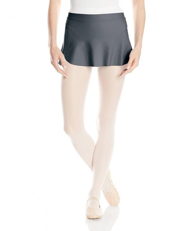 Capezio Womens Skirt Smoke X Small