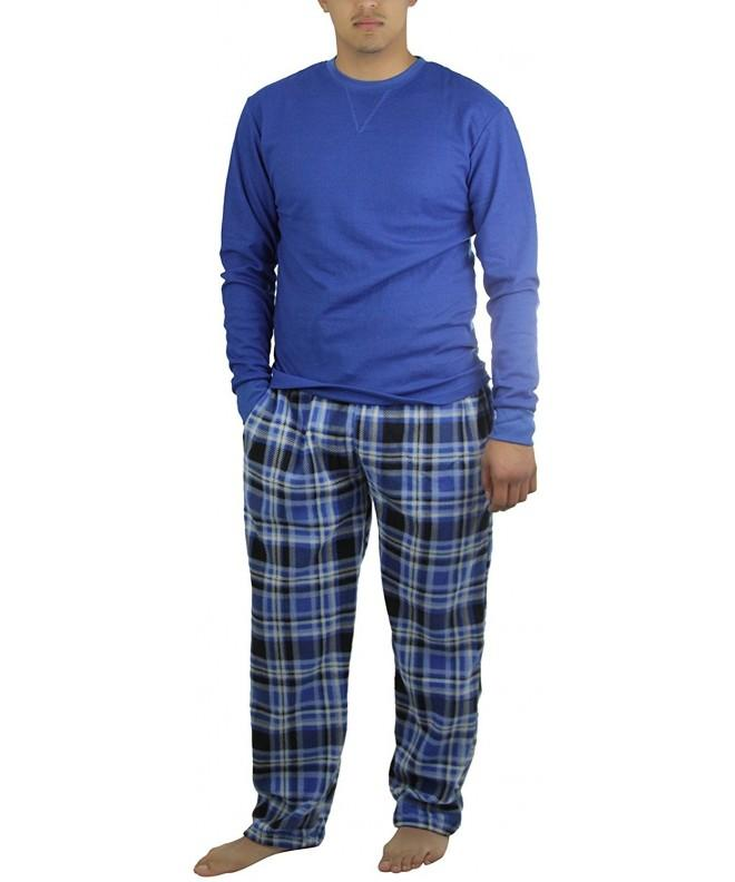 ToBeInStyle Mens Two Piece Pajama