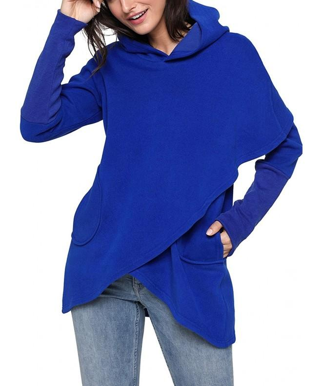 ZKESS Sweatshirt Asymmetric Pullover XX Large