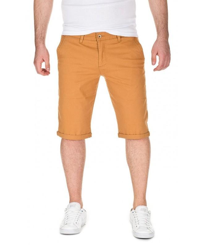 WOTEGA Summer Chino Shorts mustard